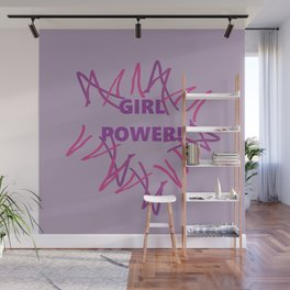 Girl Power Wall Mural