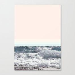 happy waves Canvas Print