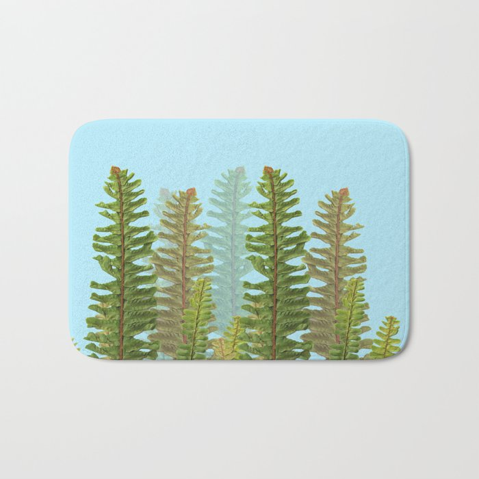 Green Nature! Bath Mat