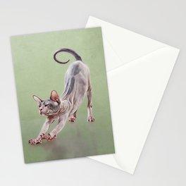Sphynx kitten Stationery Cards
