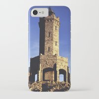 darwin iPhone & iPod Cases featuring Darwin Tower by Mycatkins