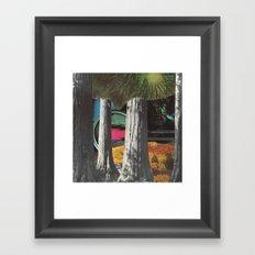 watcher in the woods Framed Art Print