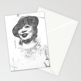 Zora Neale Hurston - Society6 Black Greatness Art - BLM - 01-06-2021 - 88U7 Stationery Cards