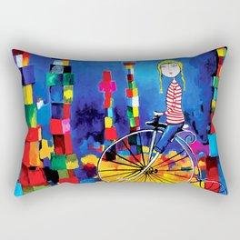 Out Of Bounds Rectangular Pillow