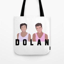 Dolan Twins Tote Bag