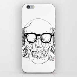 My best friend, Death iPhone Skin