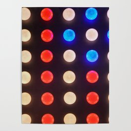 American Dots Poster