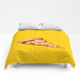 Pizza Time Comforters