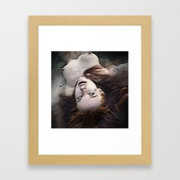 Salem Witch Dead In the Water Framed Art Print