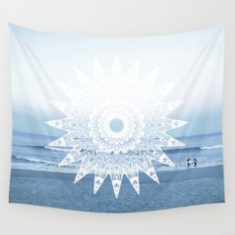 Surf mandala Wall Tapestry