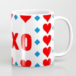 Red Hugs and Kisses Coffee Mug