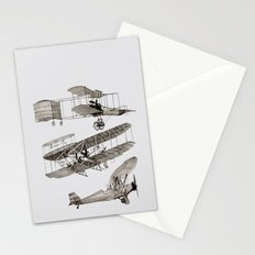 airplanes 3 Stationery Cards