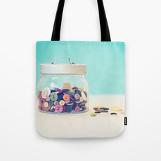 Where's Baby's Button? Tote Bag