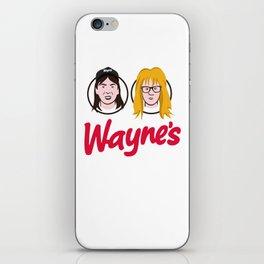 Wayne's Double iPhone Skin