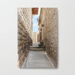The Way to Greece III Metal Print