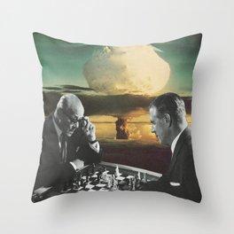 Political Pawns Throw Pillow