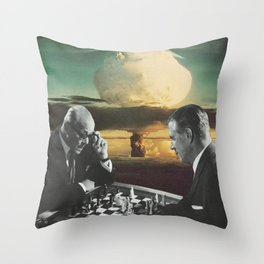 Political Pawns Throw Pillow