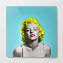 MONROE Metal Print