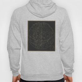 Vintage Astronomical & Celestial Map (1850) Hoody