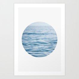 Oblò: Oh, the Sea! Art Print