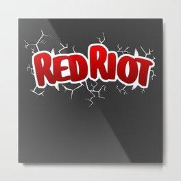 Red Riot! Metal Print