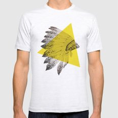 headdress Mens Fitted Tee Ash Grey SMALL