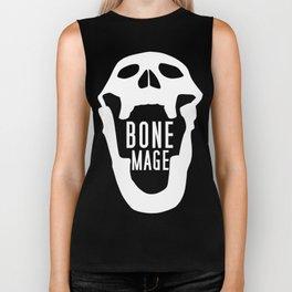 Bone Mage Skull  Biker Tank