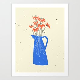 Bright July Art Print