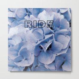 Ride - Smile Metal Print