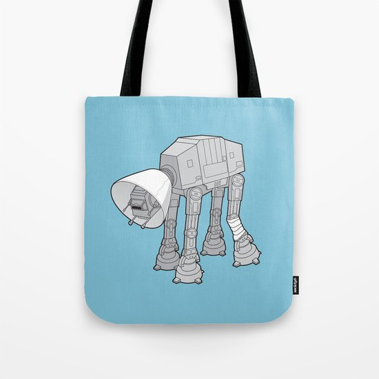 Battle Damage Tote Bag