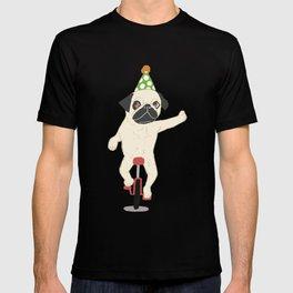 Circus pug T-shirt
