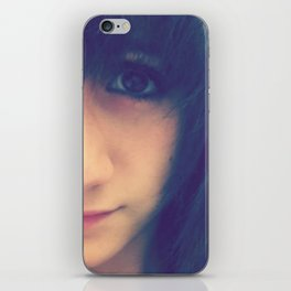 Brown Eyed Girl iPhone Skin