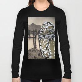 Owl Landscape Long Sleeve T-shirt