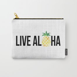 Live Aloha - Pineapple Carry-All Pouch