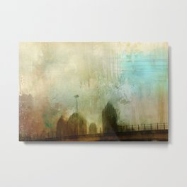 City Glimpse Metal Print