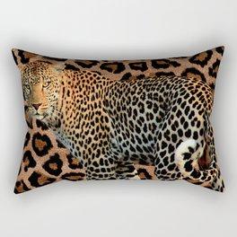 Jungle Beauty Rectangular Pillow