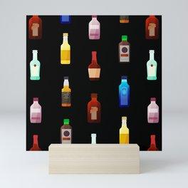 bottles Mini Art Print