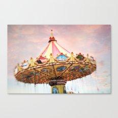 dusk at the fair Canvas Print