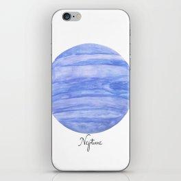 Neptune planet iPhone Skin