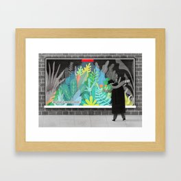 Add a splash of colour into your life Framed Art Print