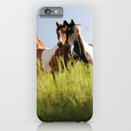 The Wild Bunch-Horses iPhone Case
