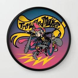 troublemaker Wall Clock