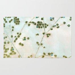 mosaica glitterati in blue + gold Rug