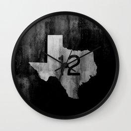 Texas Ranch Road 12 Wall Clock