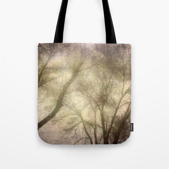 Interlocking trees Tote Bag