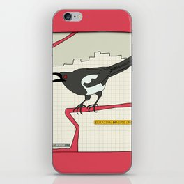 Eurasian Magpie iPhone Skin