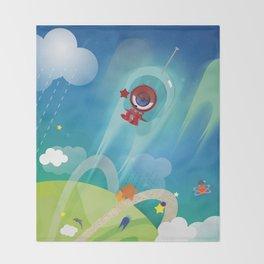 The Eyez - Astronaut Throw Blanket