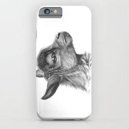 Goat baby G099 iPhone Case