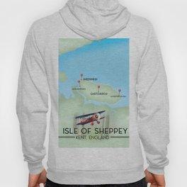 Isle of Sheppey map Hoody
