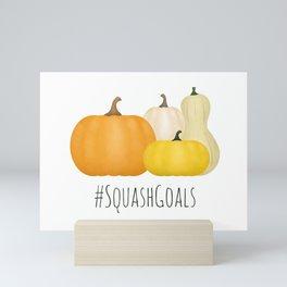 #SquashGoals Mini Art Print
